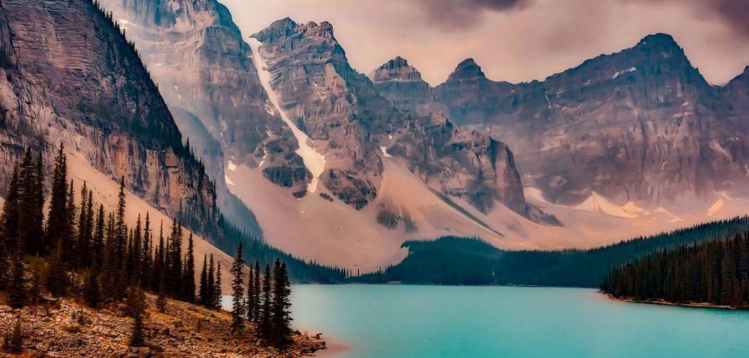 lake-moraine canada