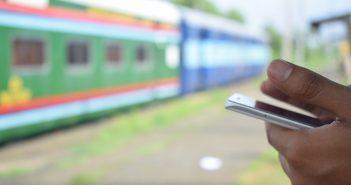 application smartphone voyage